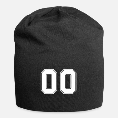 Jersey Number 00 jersey numbers, back number, jersey number - Beanie