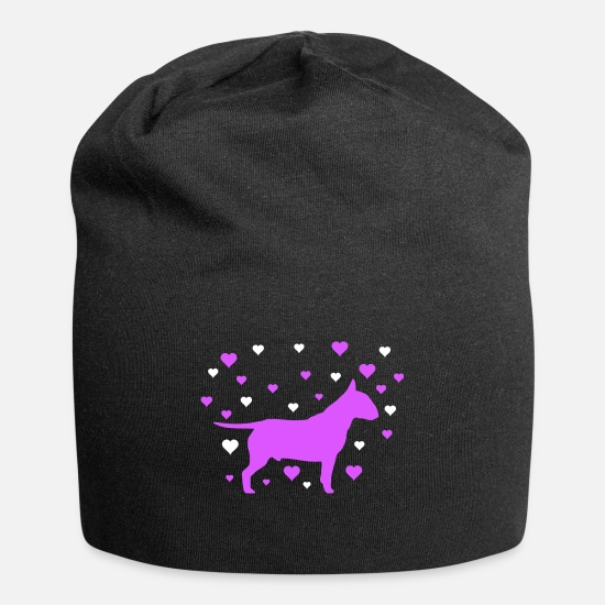 Dog Owner Caps & Hats - Bull Terrier - Beanie black