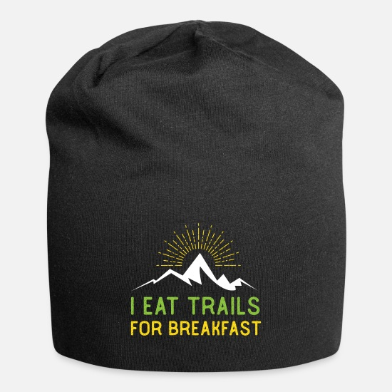 Trail Cappelli & Berretti - I Eat Trails For Breakfast Trail Running - Berretto nero