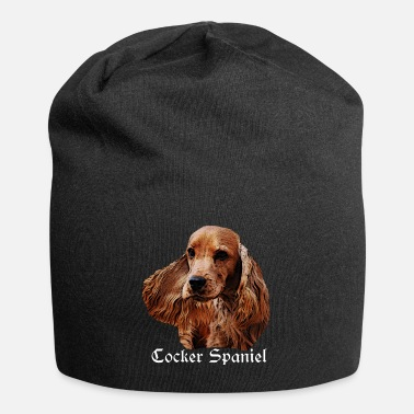 Purebred Dog Cocker Spaniel, Spaniel, Dog's Head, Purebred Dog, - Beanie