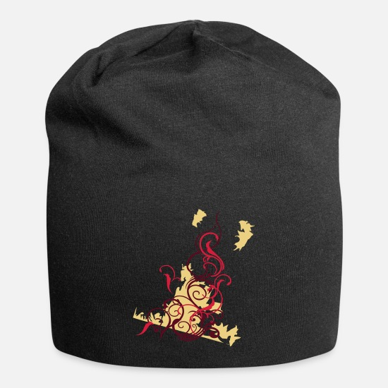 Urban Kasketter & huer - graffitti - Beanie sort