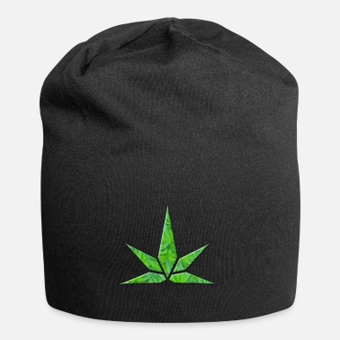 Stylised Leaf Shape - Beanie