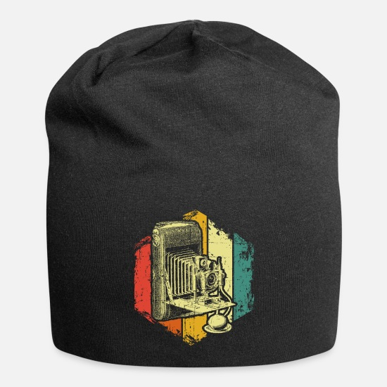 Photographer Caps & Hats - Camera photographer - Beanie black