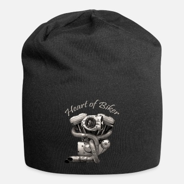 Up Heart of biker - Beanie