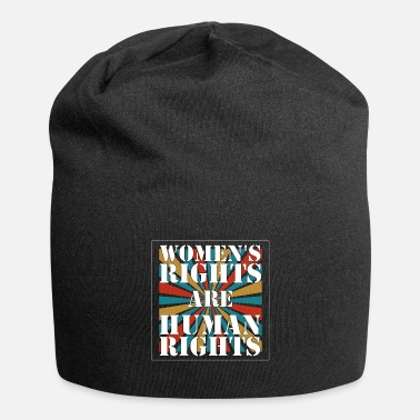 Human Rights Human Rights - Women's rights are human rights - Beanie