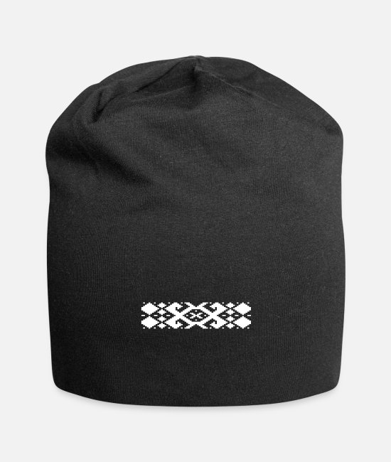 Origin. Caps & Hats - Belarus Symbol National Gift - Beanie black