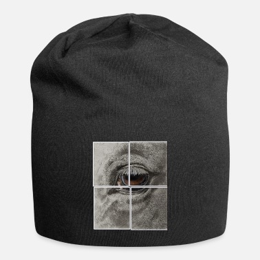 Horse eye in 4 parts - Beanie