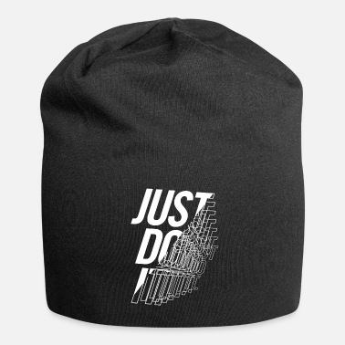 Strange JUST DO IT- Fitness- Strange- Workout- broker- fun - Beanie