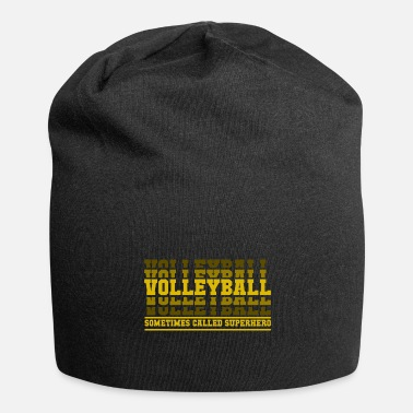 Beach Volley Cadeau de super-héros de volley-ball - Beanie