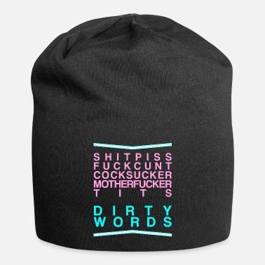 Word Dirty Words - Beanie