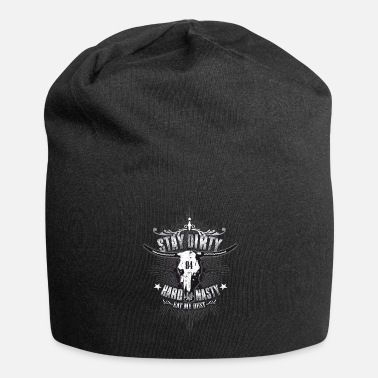 Stay-Dirty-Shirt-01_weiss - Beanie