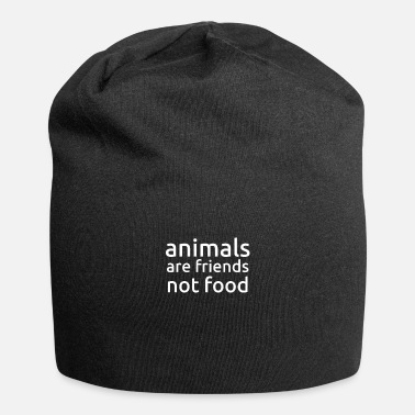 Friends Animals Are Friends Not Food T Shirt Gift - Beanie