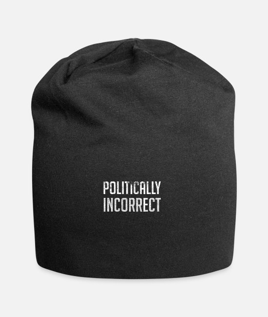 Free Thinker Caps & Hats - Politically Incorrect - Beanie black