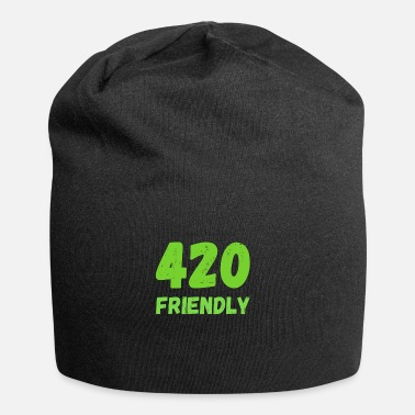 420 2018 420 Friendly - Grass Ween Kiffen hemp gift - Beanie