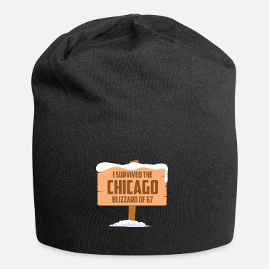 Chicago Je SURVÉCU LE BLIZZARD DE CHICAGO 67 - Beanie