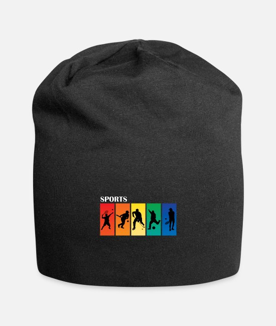 Tennis Caps & Hats - Sports fan - Beanie black