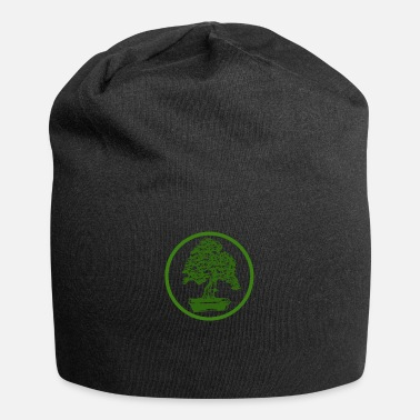 Art Bonsai Green Zen Japan Japanese art tree - Beanie