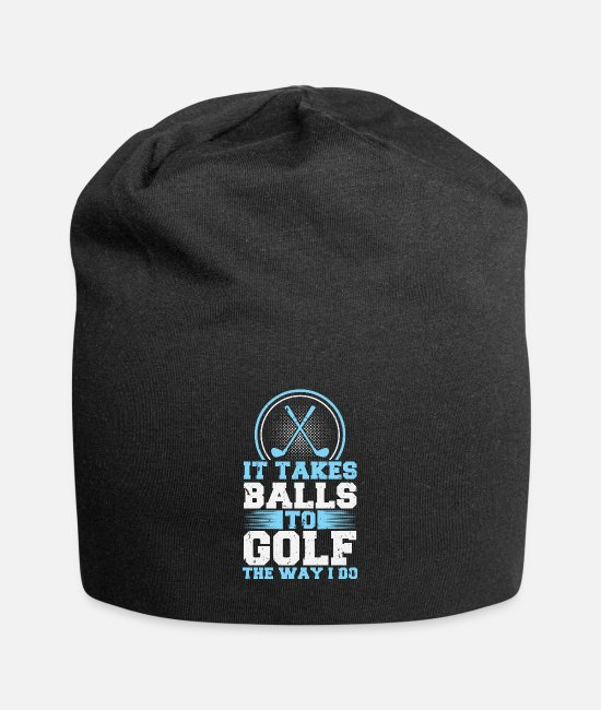 Grandpa Caps & Hats - It takes balls to golf like that! Golf Golf Club - Beanie black