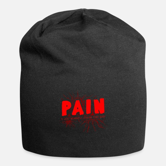Fitness Caps & Hats - pain - Beanie black