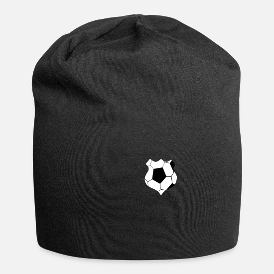 Gift Idea Caps & Hats - Football Crests Football Clubs Footballer Gifts - Beanie black