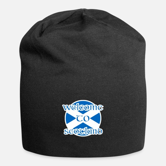 Birthday Caps & Hats - Scotland - Beanie black