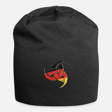 Horn Triple Horn Odin Distressed German - Beanie