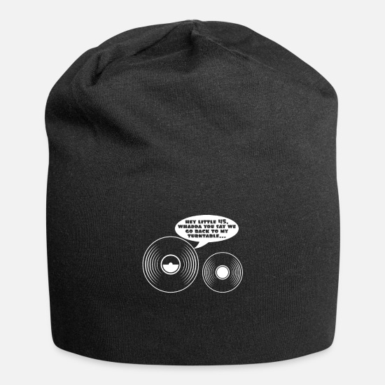 Birthday Caps & Hats - records - Beanie black