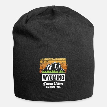 National Wyoming Grand Teton National Park TShirt Vintage - Beanie