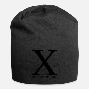 Mark Something The X marks the point - Beanie