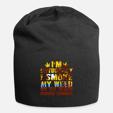 Hemp Summer Friends Joint Hemp Gift Idea Happy - Beanie