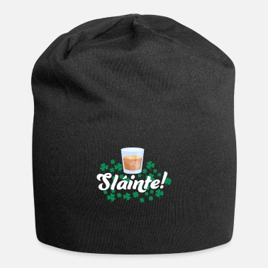 Fourleaf Clover St Patricks Day, Clover, Irish Whiskey Drinking - Beanie