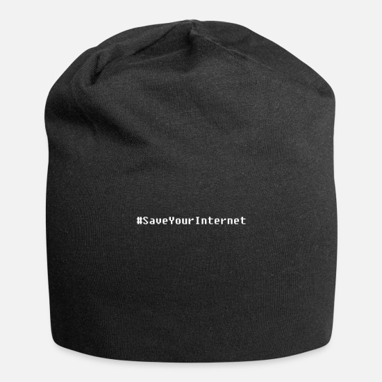 Politics Caps & Hats - Save Your Internet Against Articles 11, 13 & Censorship - Beanie black
