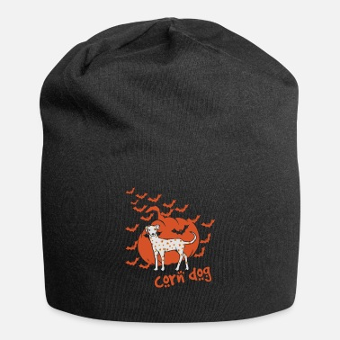 Corn Dog Grain Dog Corn Dog Halloween Design - Beanie