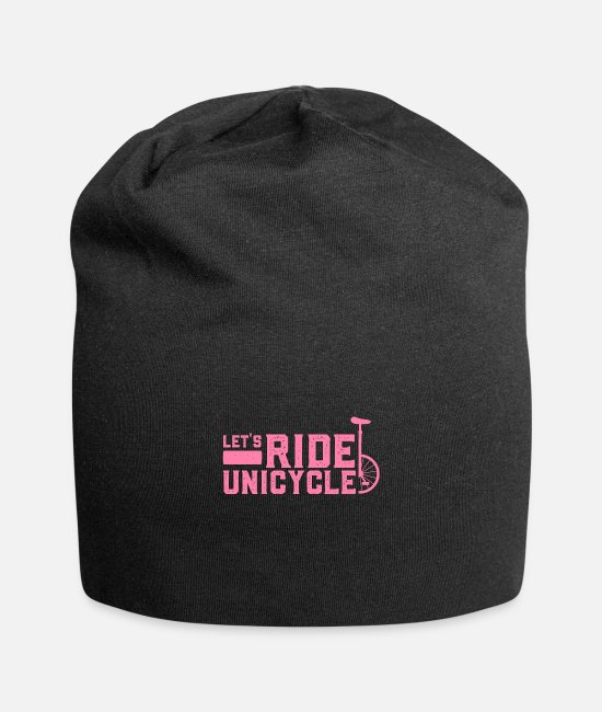 Unicycle Caps & Hats - Unicycle - Beanie black