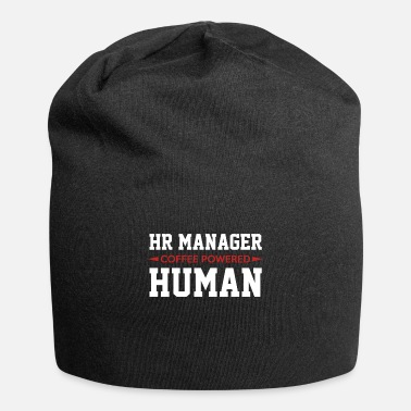 Hr Manager HR Manager Kahvi Powered Human - Beanie-pipo