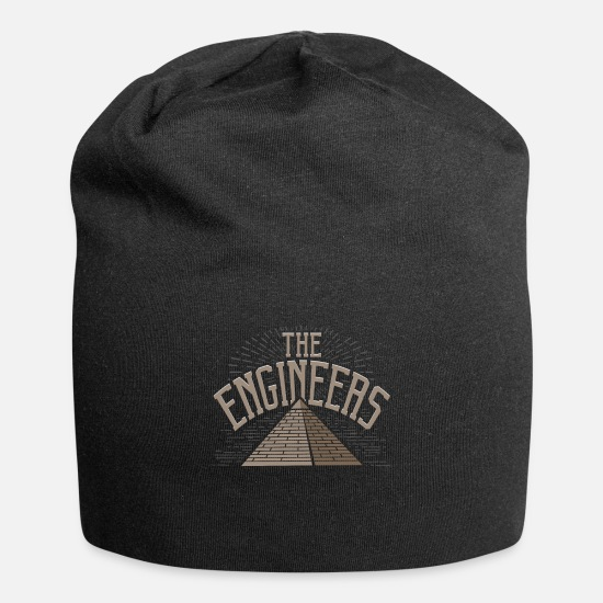 Egypt Caps & Hats - Egypt pyramid conspiracy theory - Beanie black