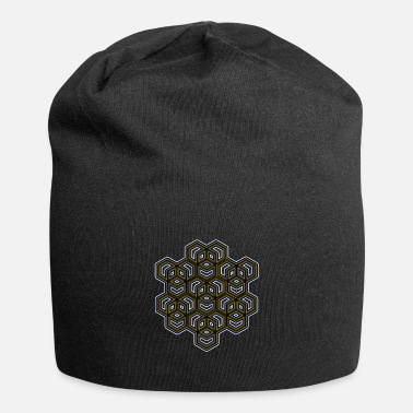 Mdma Goa Party Shirt Mandala Geometry Psytrance Tattoo - Beanie-pipo