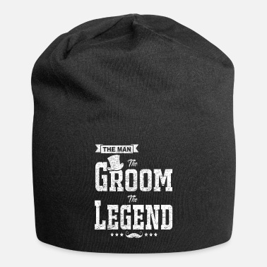 Gentleman The Man The Groom The Legend Funny Bachelor Gift - Beanie