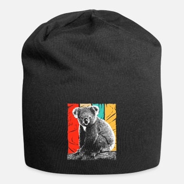 Hipster Koala Bear Australia Backpacker Koala Animal Welfare - Beanie