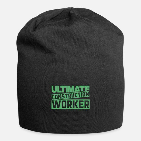 Gift Idea Caps & Hats - Construction Construction Worker Construction Worker Worker Construction Work - Beanie black