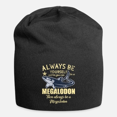 Fossil Megalodon Tee Shirt Fossil Shark Teeth Shark Shark - Beanie