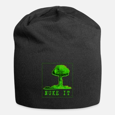 Nuclear Power Nuke it atomic bomb nuclear power mushroom cloud - Beanie