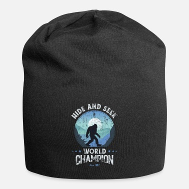 Chemise Champion Bigfoot Bigfoot Shirt cache-cache, Bigfoot Hide et - Beanie