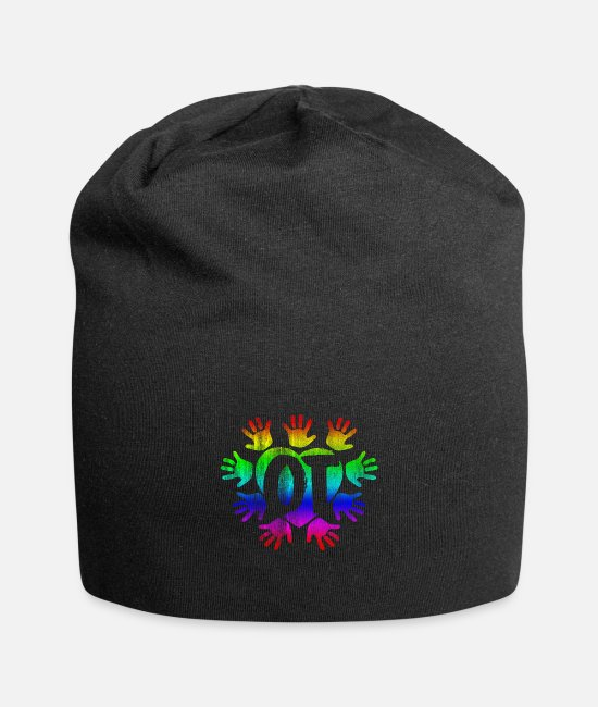 Occupational Therapy Caps & Hats - occupational Therapy - Beanie black
