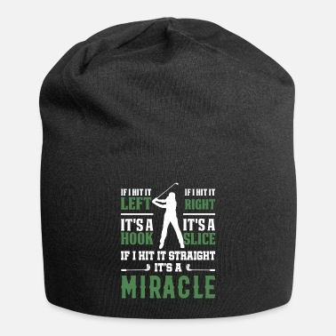 Golf Golf Golfing Hook Slice Putter Miracle - Beanie