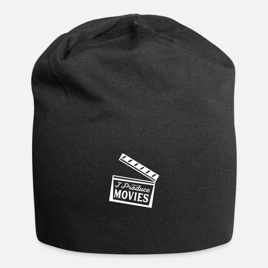 Gift Idea Caps & Hats - film producer - Beanie black