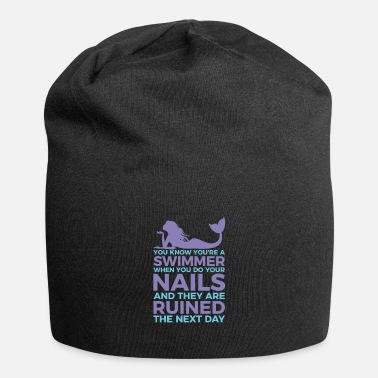 Swimmers nails ruined fun design. - Beanie