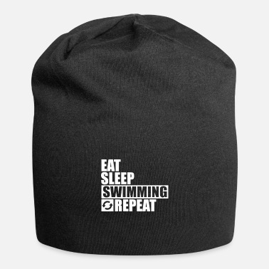 Triathlon Eat Sleep Swimming Repeat - Beanie