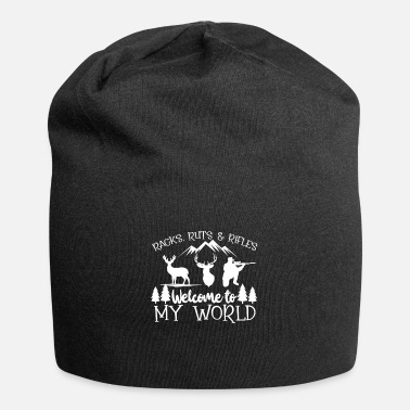 Wild Deer Hunt Hunter Wild Forest Hunt Deer Nature Gift - Beanie