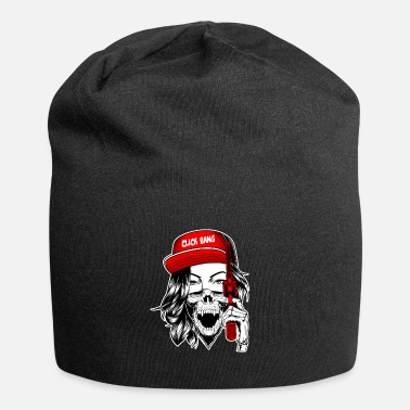 Gang Gangster Bride Click Bang Hip Hop Tattoo Gift - Beanie